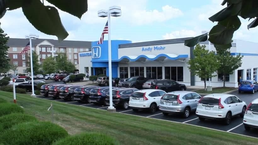 Bad Credit Car Loans Bloomington In Andy Mohr Honda